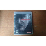 Juego Ps3 Metal Gear Solid 4 Original