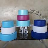 3 Kits Bases Isopor Revestidas Eva Sem Emendas P/decoração