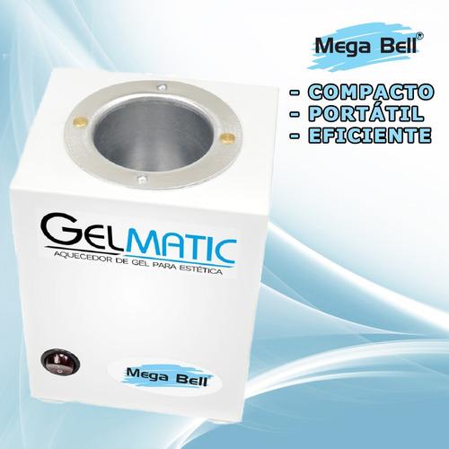 Aquecedor De Gel Para Massagem Estética Mega Bell Gel Matic
