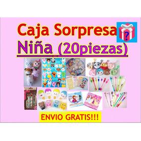 Juguetes Regalos Sorpresa Niña Fiesta 20 Pzas + Envio Gratis