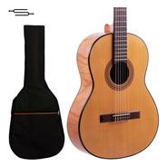 Guitarra Criolla Gracia M7  Estudio Superior Nogal + Funda