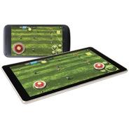 Dual Game Stick Microcase Cursores Analogicos Juegos Touch