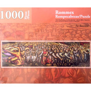 Rompecabezas De 1000 Piezas: Mural Del Porfirismo A La