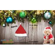Gorro Toca Para Cachorro De Natal Dog Noel Pet Vermelho
