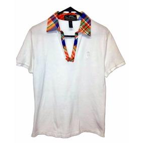Blusa Para Mujer Talla Chica Color Blanco Marca Ralph Lauren