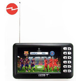 Mini Tv Digital Portatil 4.3 Isdb-t Video Microsd Radio Fm
