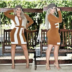 Vestido Feminino Midi Moda Evangélica Roupas Femininas Ofert