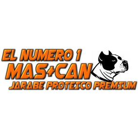 Mas+can Suplemento Liquido Para Bullys Pitbulls Husky 1 Lt