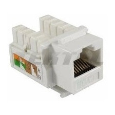 Jack Coupler Rj45 Cat6 Keystone Wireplus Cable Router