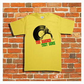 Playera Harder They Come Reggae Rasta Jamaica Jimmy Cliff