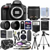 Kit Nikon D3300 Cámara Digital Slr Envio Gratis!
