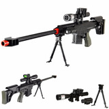 Marcadora Airsoft Sniper Rifle Barrett M82a1 Bbs 6mm Ukarms
