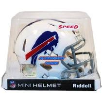 Nfl Mini Casco Speed Riddell Buffalo Bills Helmet Bufalos