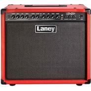 Amplificador De Guitarra Laney Lx65r 65w C/reverb Rojo