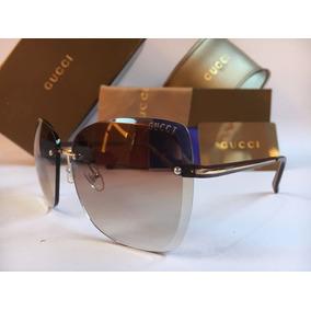 Oculos De Sol Feminino Gucci Quadrado Original 2016/17