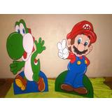 Decoracion Fiesta Infantil Mario Bros Y Sus Amigos