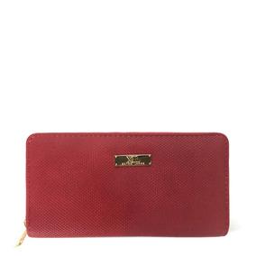Gilda Billetera Rojo Billeteras Xl Extra Large Para Mujer