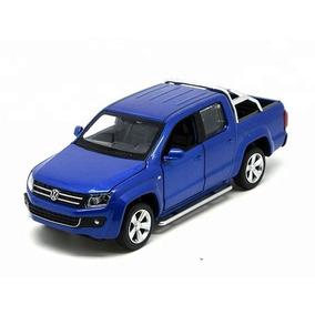 Auto De Coleccion Volkswagen Amarok C/ Luz Y Sonido 1:32 Msz