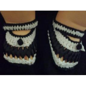 Sapatinho Croche Artesanal Para Bebe Menina