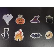 100 Tags, Topper, Apliques Para Festas - Halloween Mod. 02