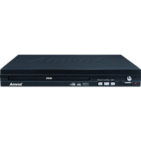 Dvd Player Amd 290 Usb/divix/mp3, Função Ripping - Amvox