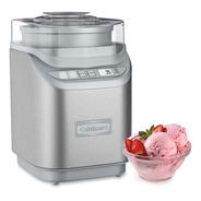 Máquina De Helado Programable De Acero 2l Cuisinart Ice-70p1