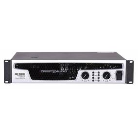 Crest Cc1800 Amplificador De Potencia Dj Bandas 1800w Rms