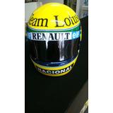 Casco Automovilismo Replica Ayrton Senna 1985 Lotus