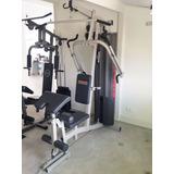 Estação De Musculação Athletic Advanced 300m Zerada