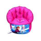 Puff Para Crianças Mini Sofá Frozen Personalizado Rosa