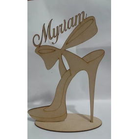 40 Souvenirs Zapato Con Nombre + 50 Centros De Mesa C/nombre