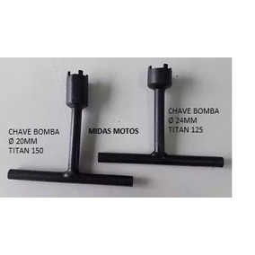 Kit Chave Bomba Oleo Titan 150(20mm)+titan 125(24mm) Flibex