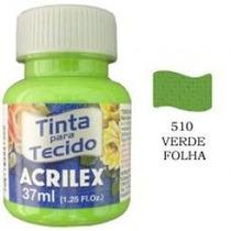 Tinta Para Tecido Verde Folha Acrilex 510