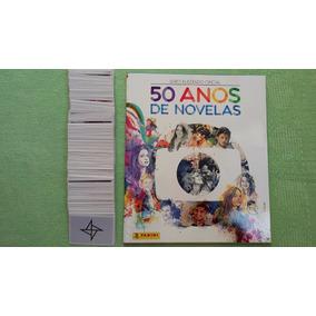 Álbum 50 Anos De Novelas Globo Completo Figurinhas Soltas