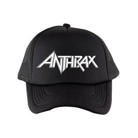 Gorra Anthrax Rockera Trucker