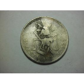 Moneda 25 Centavos Balanza Troquel Tapado 1885 Envió Gratis