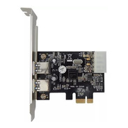 Kit 2 Placa Usb 3.0 Pci Express Com 2 Portas Pci-e