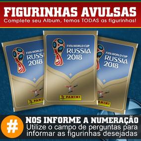Figurinhas Avulsas Copa Do Mundo 2018 A Partir De 0,40 Cada