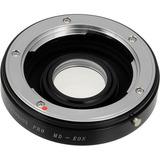 Lentes/adaptador Minolta Con Enfoque Infinito Canon Eos
