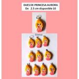 Dijes Princesas Aurora Bella Rapunzel Elsa Sofia Peppa