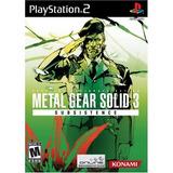 Metal Gear Solid 3 Subsistencia