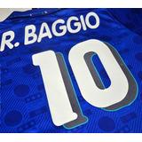 Camiseta Italia 1994 Diadora De Roberto Baggio En Felpa