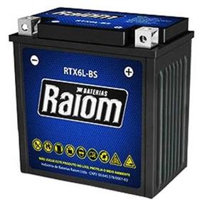 Bateria Raiom Selada Rtx6l-bs Honda Titan Fan 125 / 150