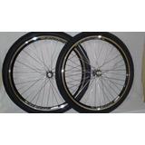 Roda Aero Bicicleta Aro 26 Roletado C/pneu Levorin Praieiro