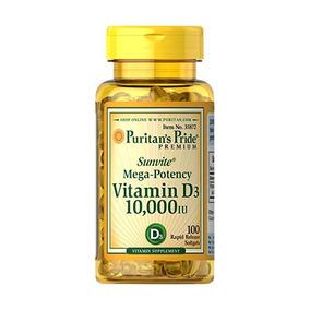 El Orgullo Puritano De Vitamina D3 10.000 Ui-100 Pastillas