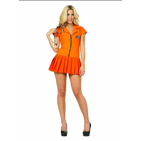 Disfraz Mujer Talla Extra 2xl Orange Is The New Black Carcel