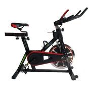 Bicicleta Spinning Fija Disco Incercia 18 Kg Usuario 150 Kg