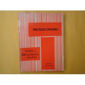 Dominick Salvatore, Microeconomía, Mcgraw-hill, México, 1978