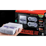 Consola Super Nintendo Classic Edition 20 Juegos Local Once