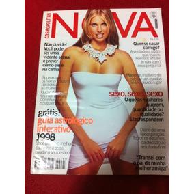 Revista Nova 12/97 Aline Moreira Pedro Bial Courtney Love